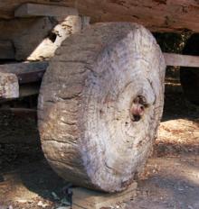invention Wooden Wheel