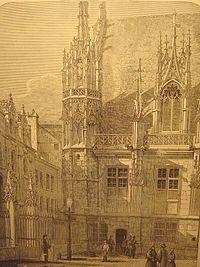 Carte de Rouen