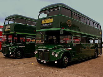 Green Line Coaches - Preserved AEC Routemasters