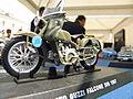 Rovigo, festa della Polizia di Stato 2011, modello Guzzi Falcone 500.JPG