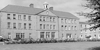 Royal Hibernian Military School - Mid 20th Century view of the school building in the Phoenix Park