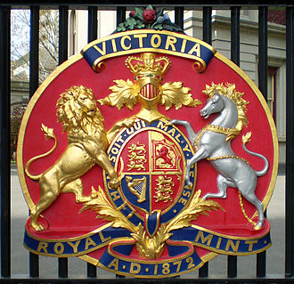 Melbourne Mint - Detail of coat of arms
