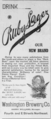 Ruby Lager Advertisement - Washington Brewery Company.png