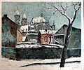 Rudolf Mazuch - Kostel sv. Bartoloměje v Kolíně (1919).jpg