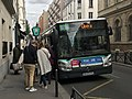 Rue Pouchet (Paris) - montée dans le bus 66 direction Opéra.JPG