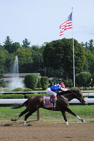 H. Allen Jerkens Memorial Stakes - Runhappy winning the 2015 King's Bishop