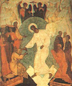 Paschal cycle - Image: Russian Resurrection icon