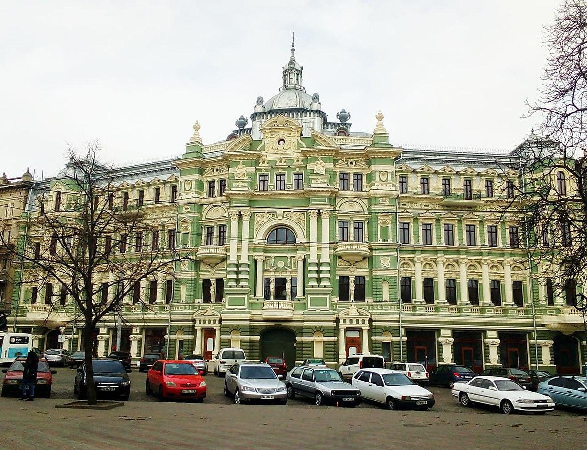 Дом Руссова после реставрации
