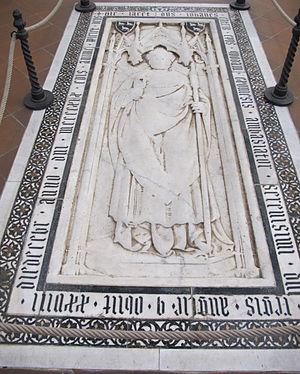 John Catterick - Image: S. croce, tomba sul pavimento 81