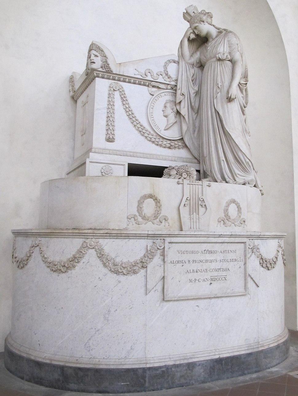 S. croce, tomba vittorio alfieri