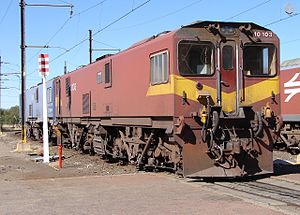 South African Class 10E2 - No. 10-103 at Beaconsfield, 18 September 2009