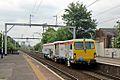 "SBRail track tamper, 73904 ""Thomas Telford"", Patricroft railway station (geograph 4004488).jpg"