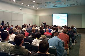 Southern California Linux Expo - Image: SCALE2X 057