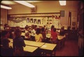 SECOND GRADERS PLEDGE ALLEGIANCE IN ROCKPORT ELEMENTARY SCHOOL - NARA - 548243.tif