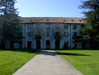 Saint Mary's College of California - De La Salle Residence Hall and De La Salle quad.