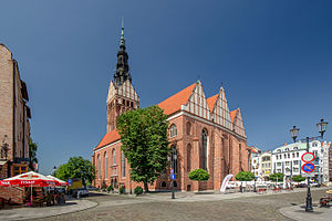 Elbląg - Image: SM Elbląg Kościół św Mikołaja (3) ID 644686