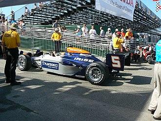 KV Racing Technology - KV Racing's No. 5 car at the 2008 Honda Grand Prix of St. Petersburg