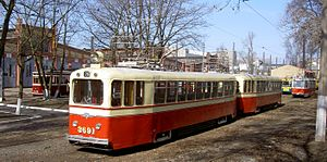 Museum of Electrical Transport (Saint Petersburg) - Image: S Pb Electric Transport Museum 2008 04 15