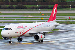 Airbus A320-200 der Air Arabia Egypt