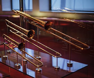 Sackbut - Sackbuts in Museu de la Música de Barcelona
