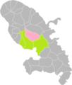 Saint-Joseph (Martinique) dans son Arrondissement.png