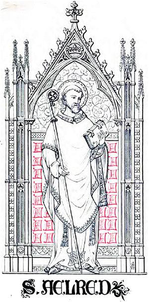 Saint Ninian - Image: Saint.Aelred