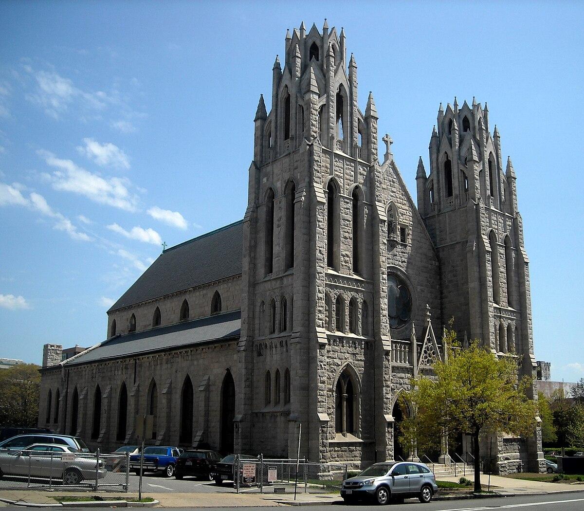 st augustine catholic church washington d c wikipedia. Black Bedroom Furniture Sets. Home Design Ideas