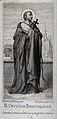 Saint Carlo Borromeo. Steel engraving by X. Steifensand afte Wellcome V0031782.jpg