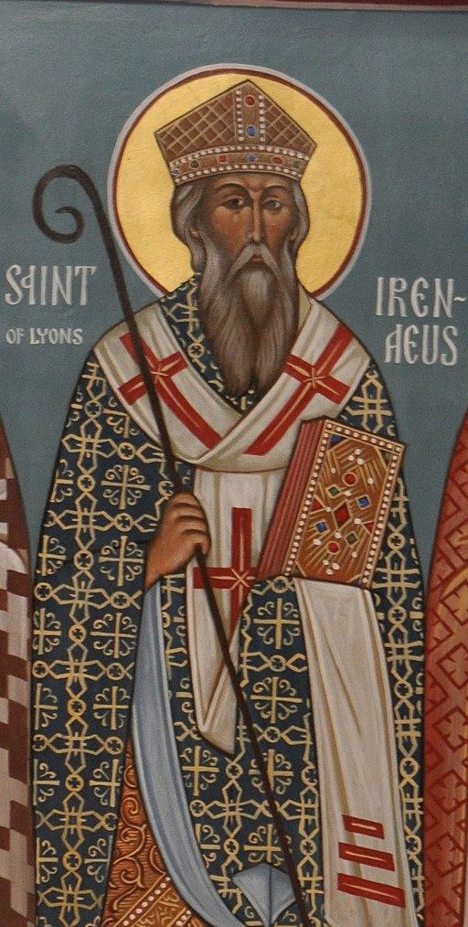 Saint Irenaeus icon