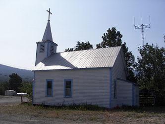 Saint John the Baptist Catholic Church, Carcross, Yukon 3.jpg