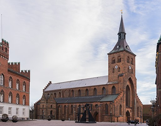 Saint Knud's cathedral Odense Denmark