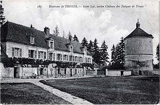 Château des évêques de Troyes - Postcard from early 2oth century
