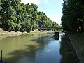 Saint Nicholas bridge over the Little Danube (N) in Esztergom, Hungary.jpg