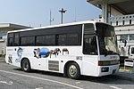 Saiseitan Kanko bus at Yonaguni Airport front.jpg