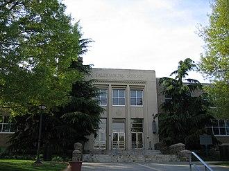 Salesianum School - Front entrance