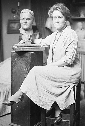 Sally James Farnham - Sculptor Sally James Farnham. Photo: Library of Congress