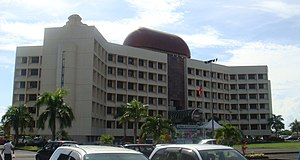 Fa'amatai - Government Building in the capital Apia housing administrative ministerial offices.