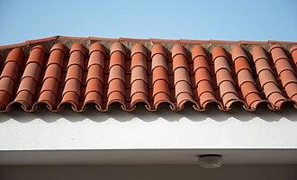 Monk and Nun - Image: San Agustin roofs C