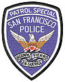 San Francisco Police Department Patrol Special patch (silver).jpg