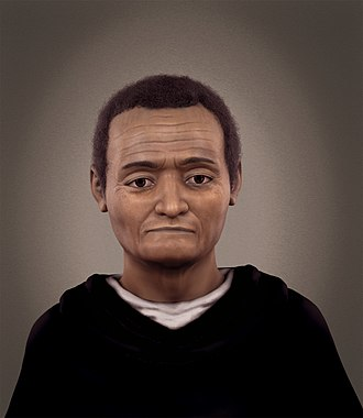Martin de Porres - Forensic facial reconstruction of Martin de Porres
