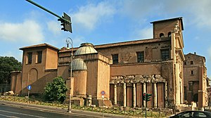 Forum Holitorium - Church of San Nicola in Carcere and Temple of Spes
