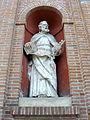 San Vitale, facade, statue (Granarolo dell'Emilia).jpg