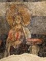 San lorenzo in insula, cripta di epifanio, affreschi di scuola benedettina, 824-842 ca., teoria di sei sante in costume bizantino, 15.jpg