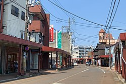 Sanjo Ichinokido Shopping Street 002 April2020.jpg