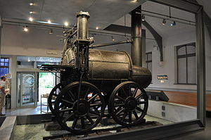 Sans Pareil - The original locomotive preserved at Shildon Railway museum