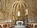 Santa Maria d'Eunate - Interior.JPG