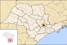 Campinas Wikipedia - Campinas map