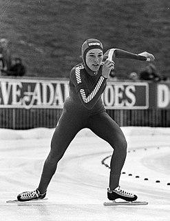 Sarah Docter American speed skater