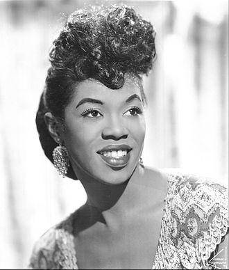 Sarah Vaughan - Vaughan in 1955