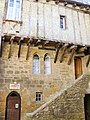 Sarlat - Immeuble impasse des Violettes -517.JPG